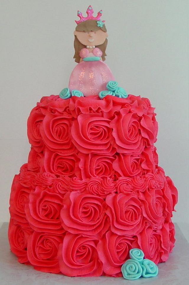 Princess Ella Rose Cake
