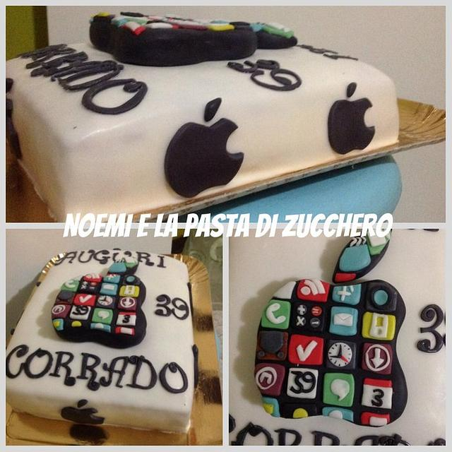 Apple's cake
