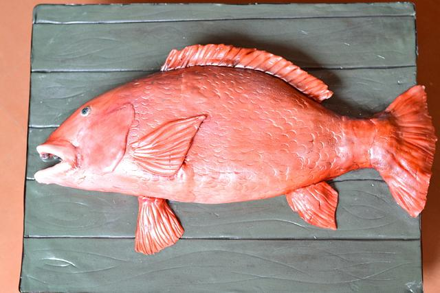 Say hello to a Snapper who looks totally dapper