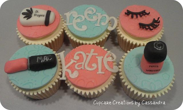 Glamourous Girly Cupcakes