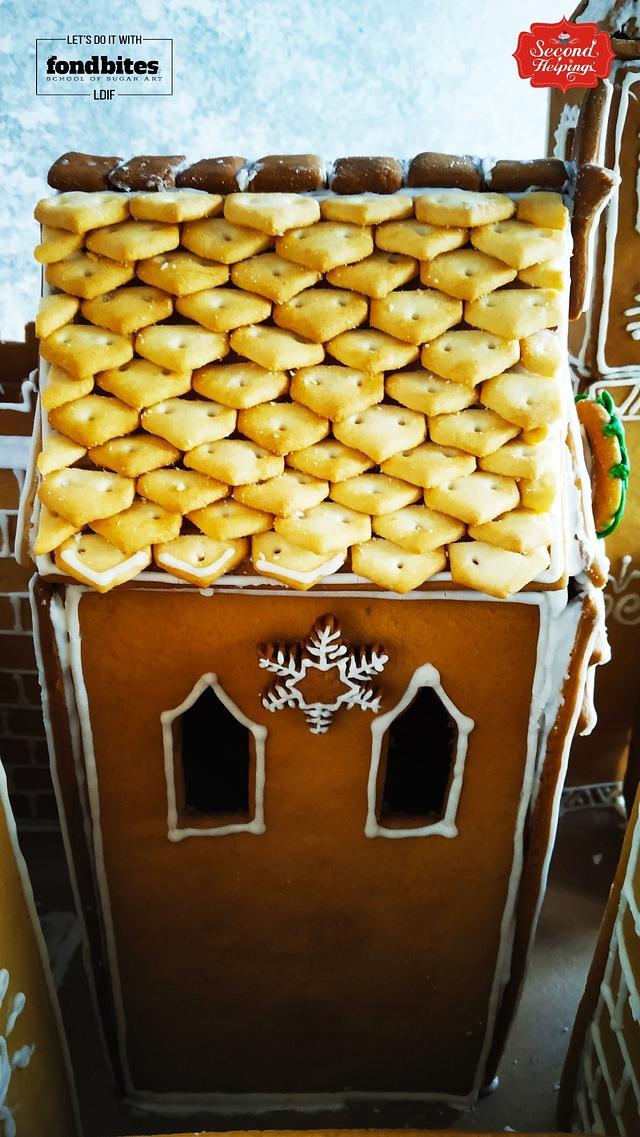 Fantasy Gingerbread Cookie Castle