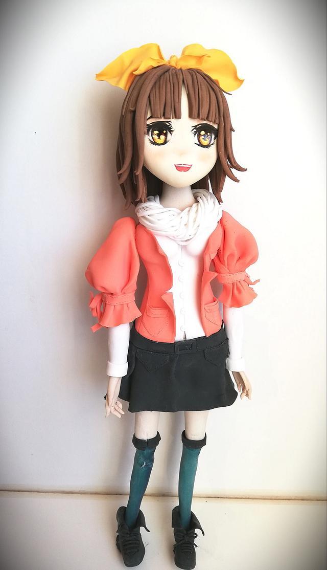 Akane [My First Fondant Figure]