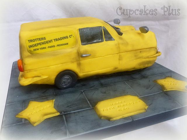 Only Fools and Horses Van cake