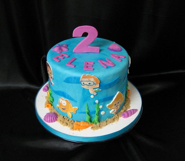 Superb Bubble Guppies Birthday Cake Cake By Gizangel Cakesdecor Funny Birthday Cards Online Alyptdamsfinfo