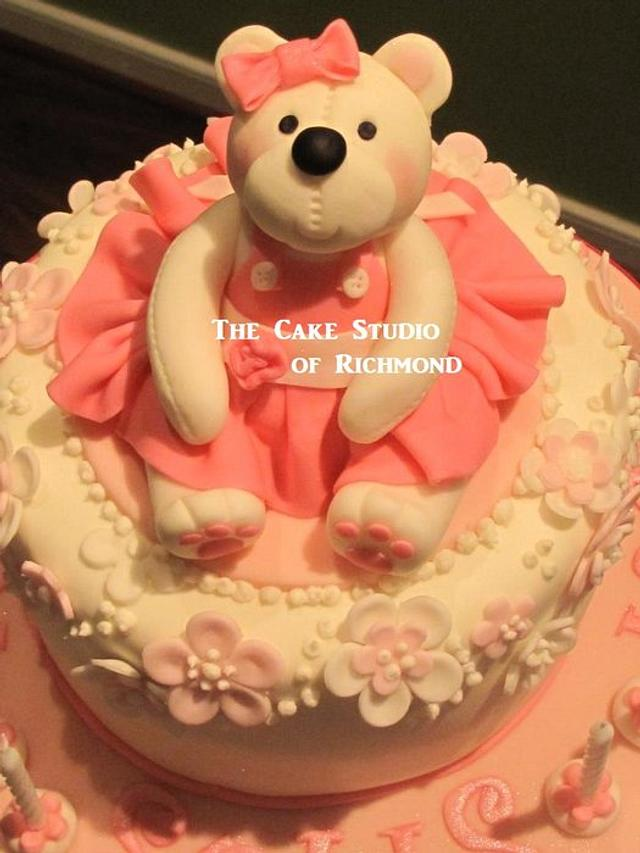 Teddy Bear Cupcake Tower