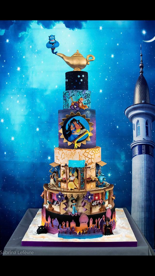 Aladdin luxury cake
