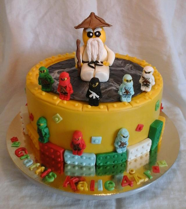 Miraculous Lego Ninjago Birthday Cake Cake By Christiane Cakesdecor Funny Birthday Cards Online Inifofree Goldxyz