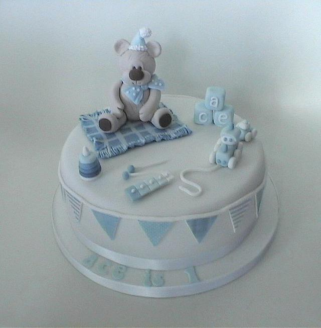 Bear and Toys Cake