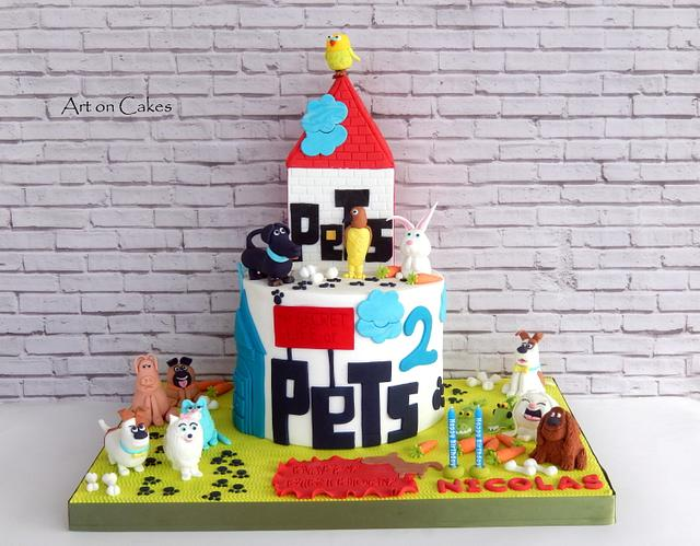 The Secret life of pets cake...