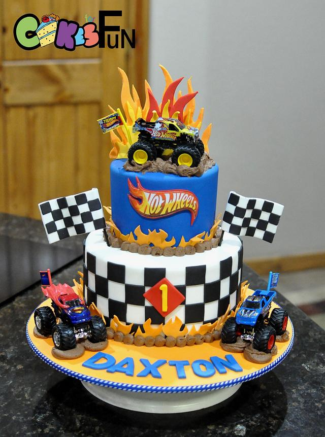 Fine Hot Wheels Cake Cake By Cakes For Fun Cakesdecor Funny Birthday Cards Online Chimdamsfinfo