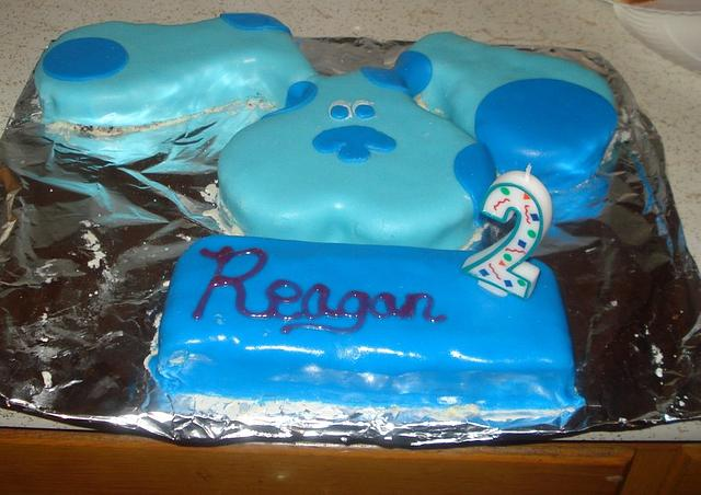 Magnificent Blues Clues Birthday Cake Cake By Chris Phillippe Cakesdecor Personalised Birthday Cards Fashionlily Jamesorg