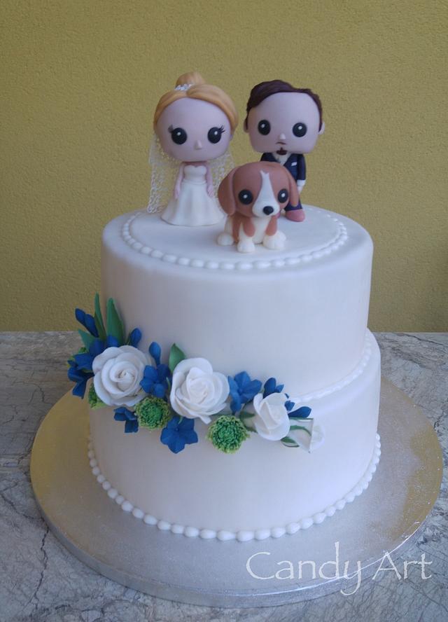 Funko Pop Vinyl wedding cake