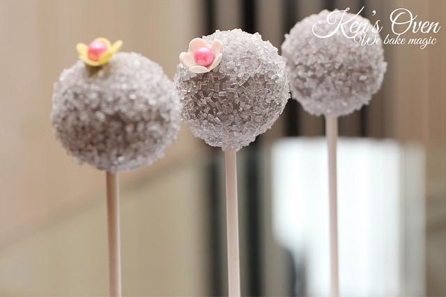 Crystal Cake Pops