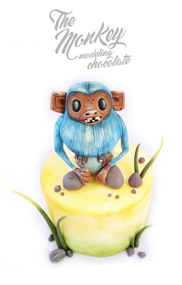 Chocolate plástico Modelado Blue Monkey