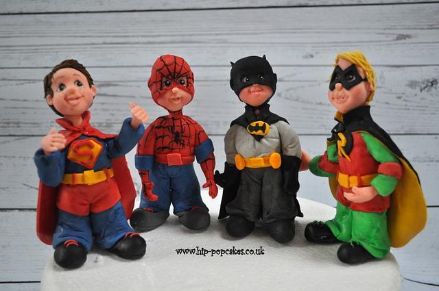 """dressing up"" - superhero's"