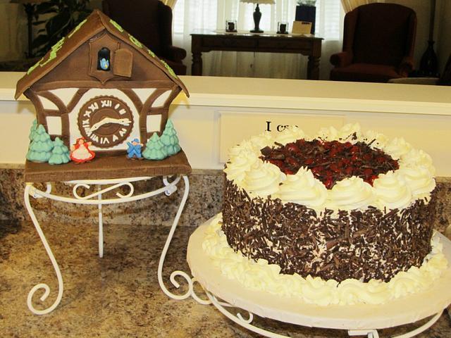 Cuckoo Clock Cake!