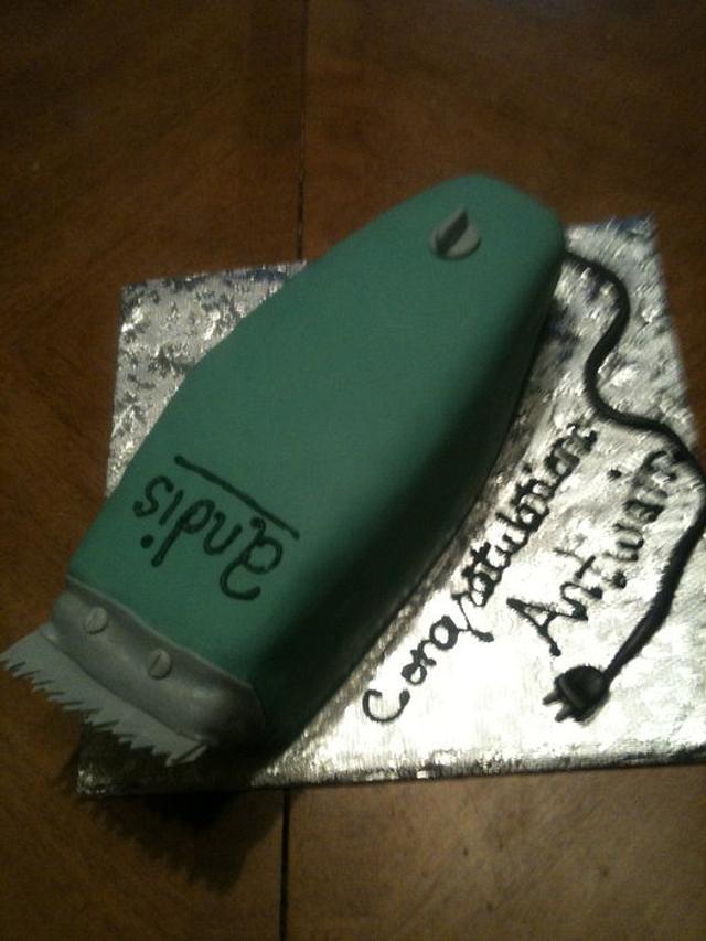 Hair Clipper cake