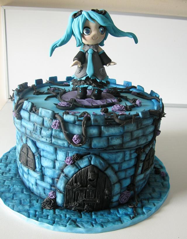 sweet little anime girl :)