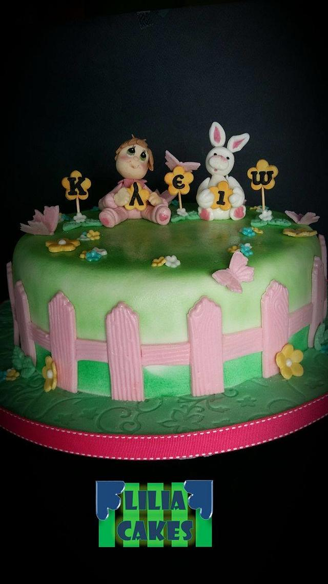 Baby Birthday Cake!