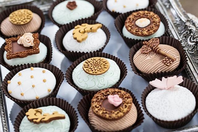 Baroque cupcakes