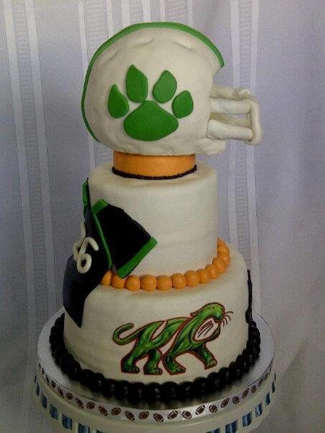 Kettle Run High Schoool Football cake.