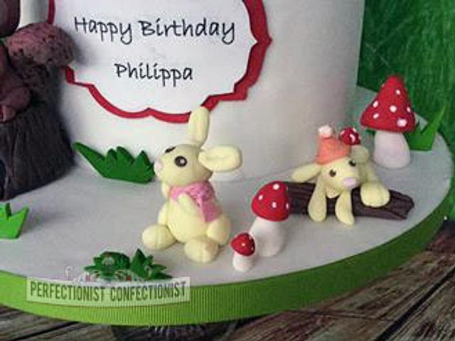 Philippa - Woodland Birthday Cake