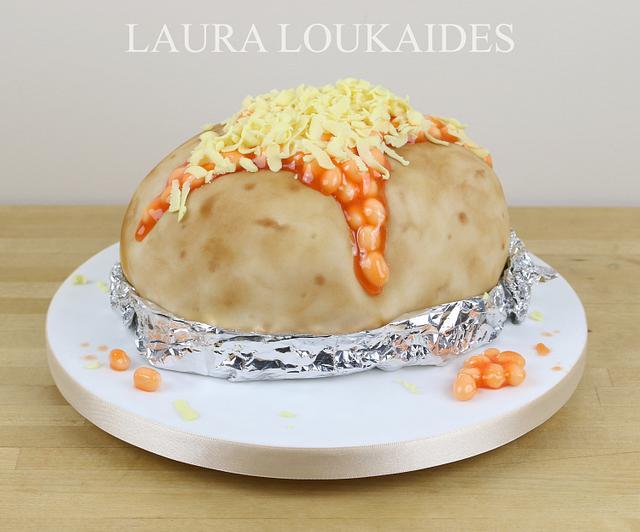 Jacket Potato Cake