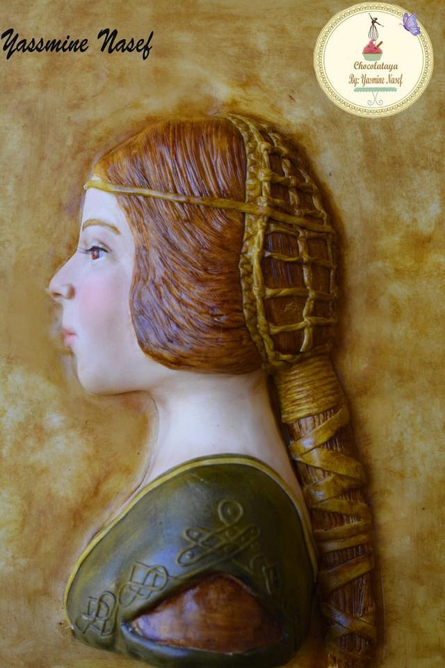 The beautiful princess Leonardo da Vinci