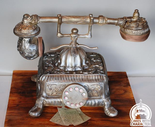 1910s' Antique Telephone for the A Sweet Farewell to Downton Abbey Collaboration
