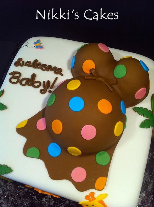 Jungle Babyshower Cake