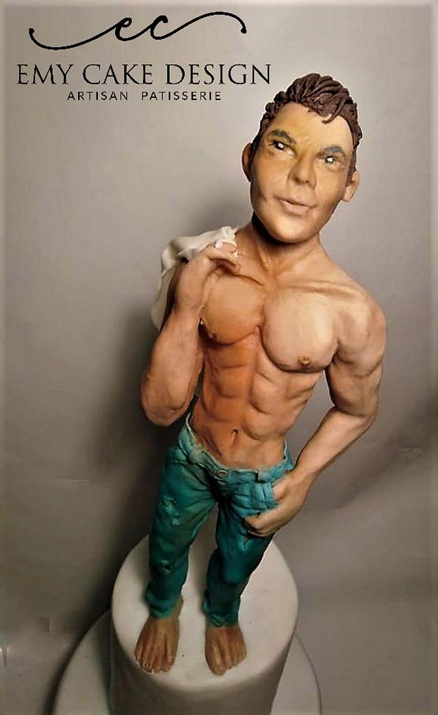 Sexy man sculpture :)
