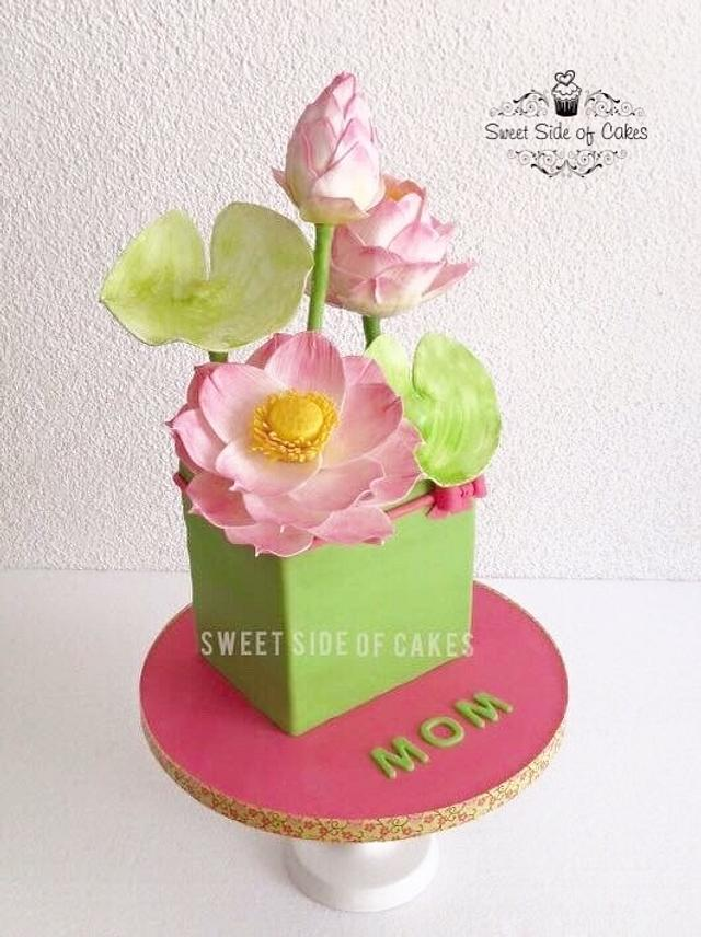 For My Mom - My 2nd Mother's Day Cake