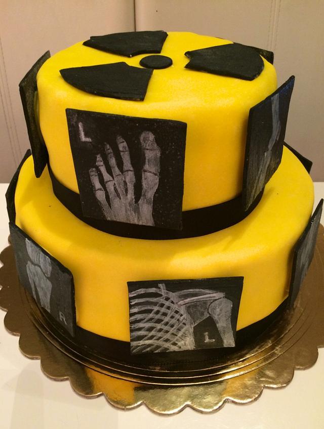 X-ray cake