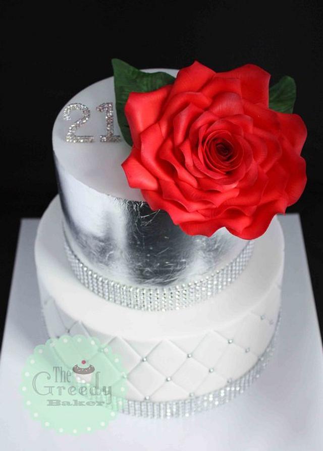 Glitz & Glamour Cake