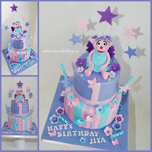 Abby Cadabby 1st Birthday Cake By It S A Cake Thing