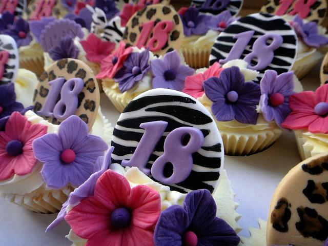 18th Birthday Cuppies