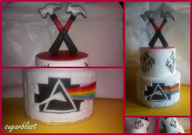 Pink Floyd cake