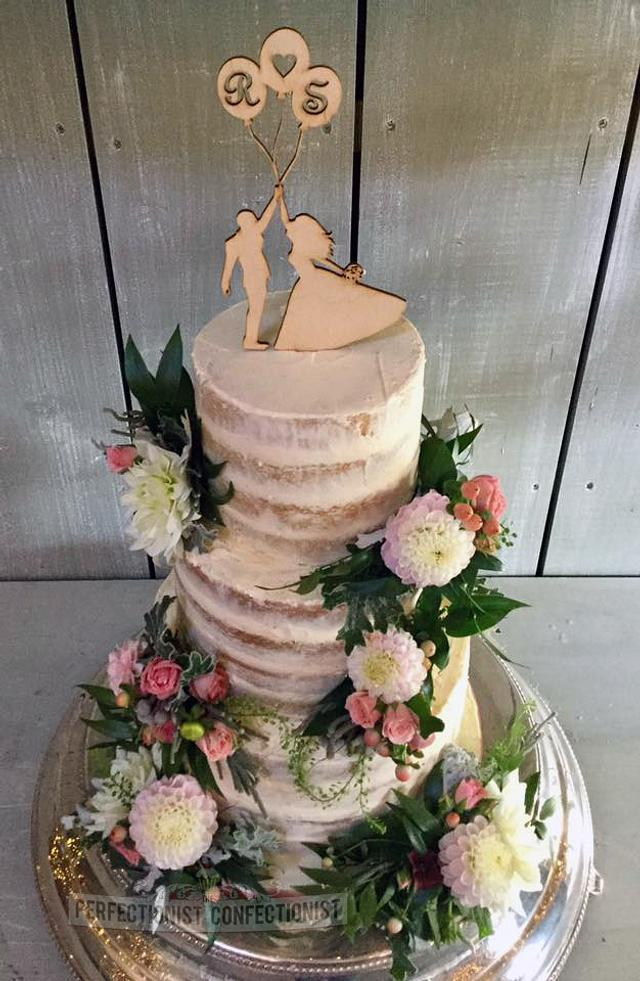 Sarah and Richard - Wedding Cake