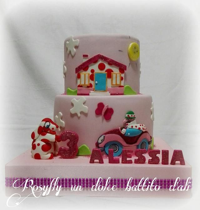 Pimpa Alessia cake