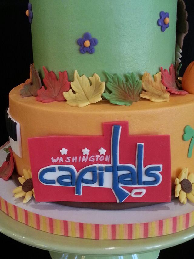 Thanksgiving birthday cake for Iain