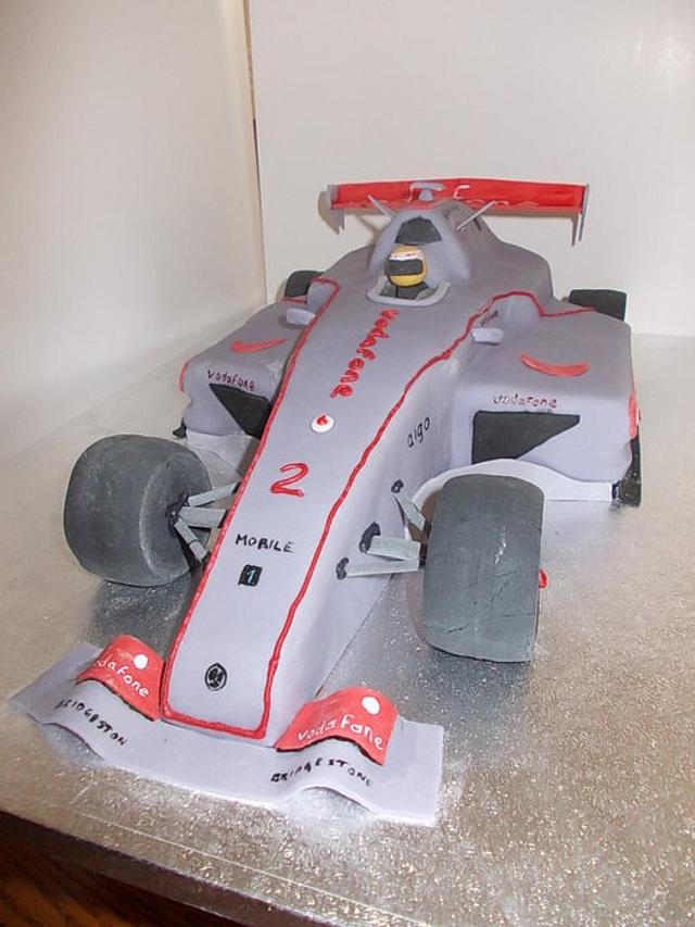 Louis Hamilton F1 Car