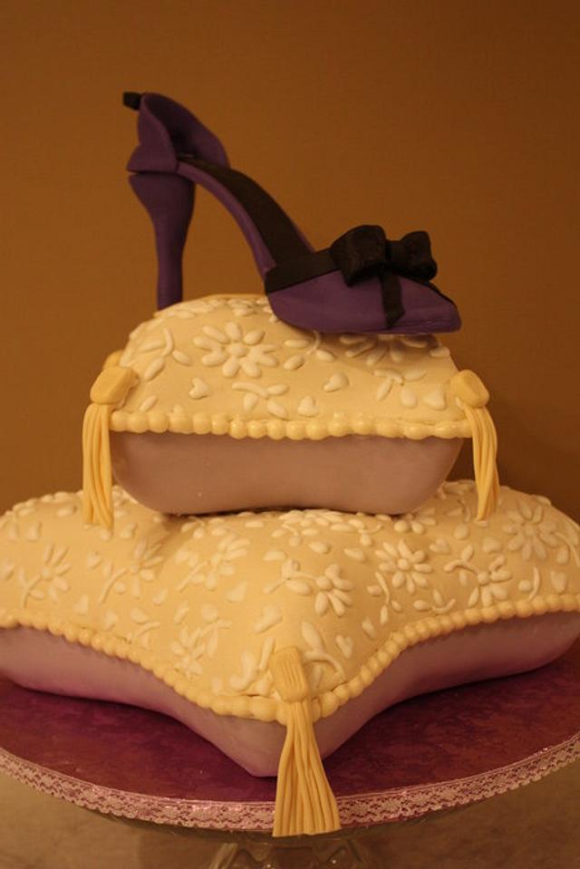 50th Birthday Pillow Cake