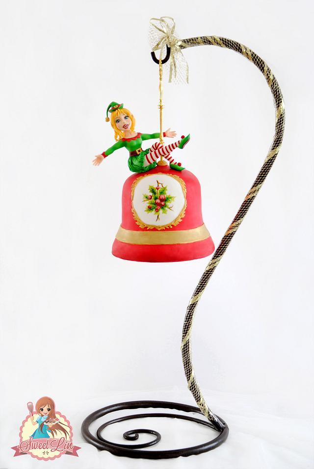 Jingle Bell Hanging Cake