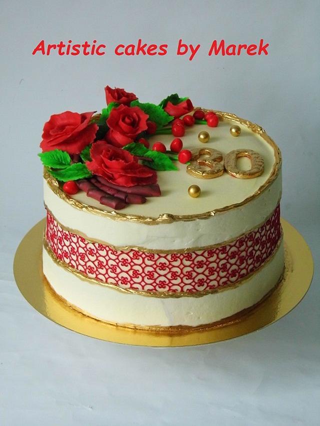 B'day cake