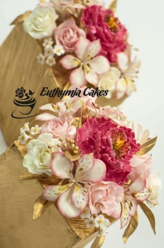 Sugar flowers for Cake Masters Magazine Awards