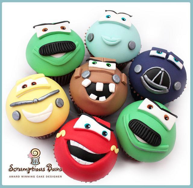 Pixar Disney Cars Cupcakes