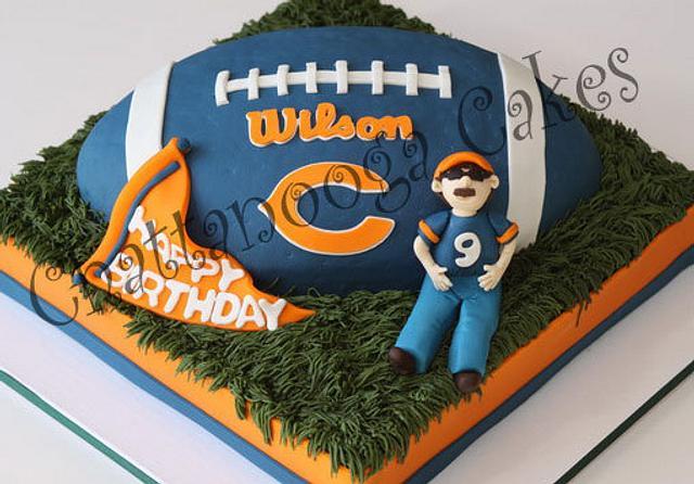 Chicago Bear Cake