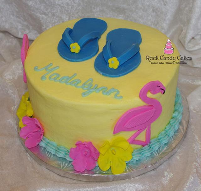 Flamingos, Flip-Flops & Hibiscus
