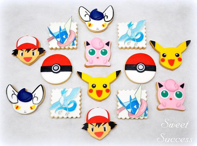 Pokemon Sugar Cookie