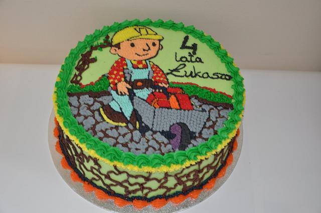 Buttercream, Bob The Builder Cake